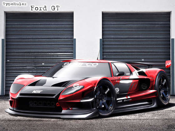 Awesome Ford GT.
