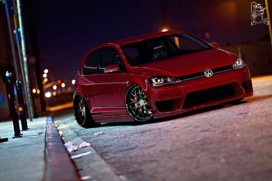 Noteworthy Volkswagen Golf 7.
