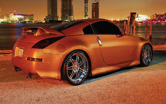 Lovely Nissan 350z.