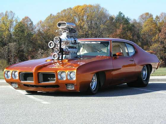 Muscle car Pontiac GTO.