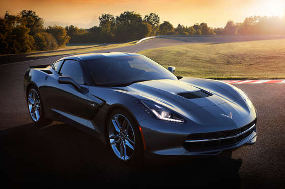 Adorabile Chevrolet Corvette Stingray.