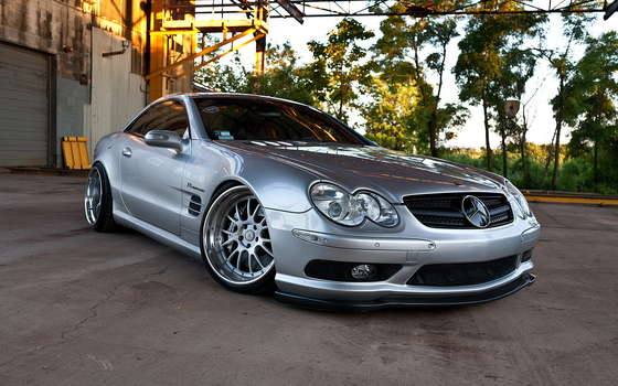 Cute Mercedes-Benz AMG.