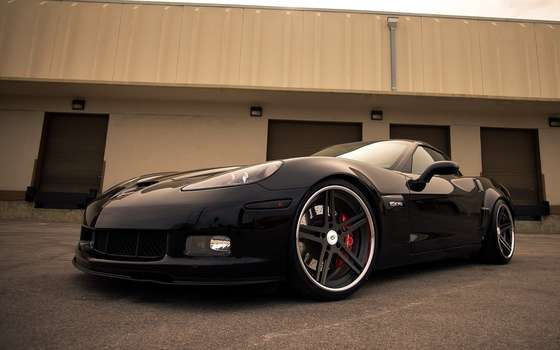 Chevrolet Corvette Z06 wallpaper.