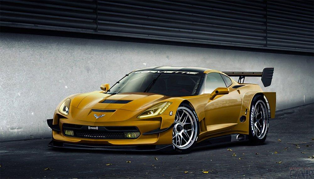 Foto novedades coches en 2014, masacre y refinado Chevrolet Corvette