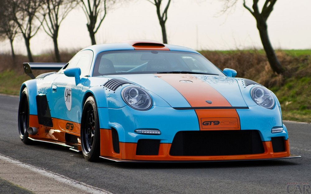 Difficile turbo Porsche 9ff GT9 CS.