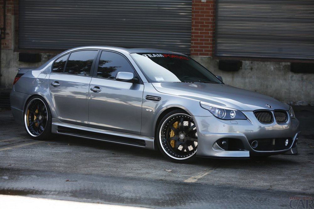 Wonderful upgraded BMW E60.
