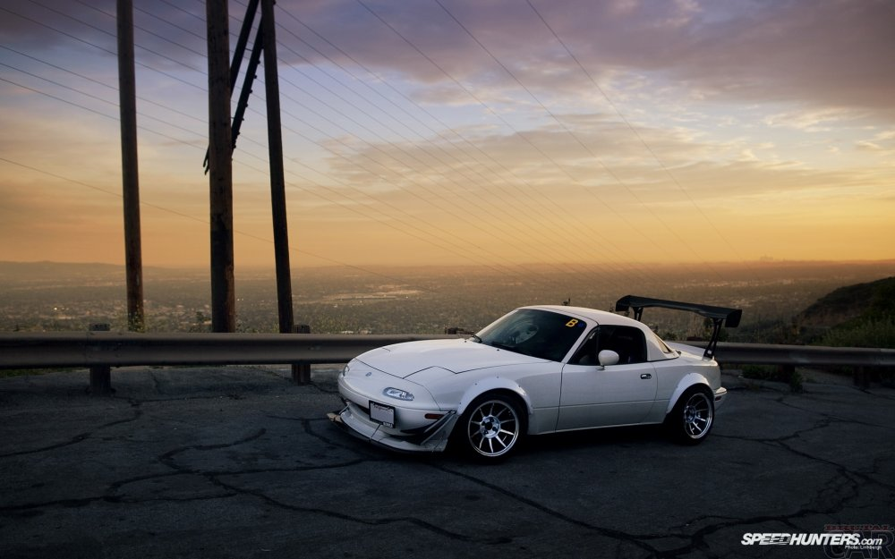 Fonds d'écran avec modification Mazda Miata MX-5