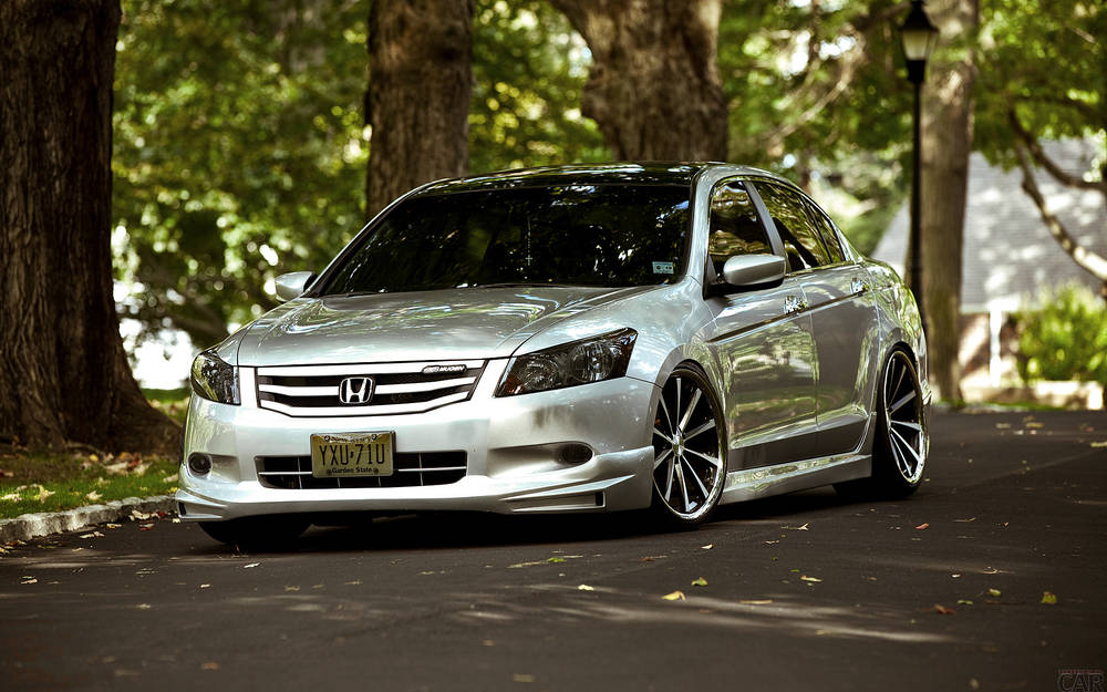 Tuned Honda Accord.