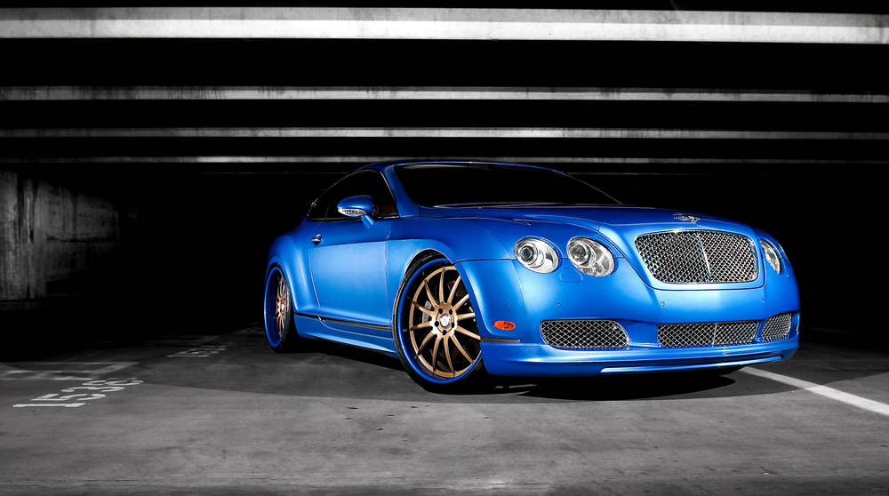 Bella Bentley Continental GT.