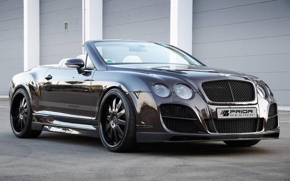 Tuning Super automobiles Bentley Continental GT.