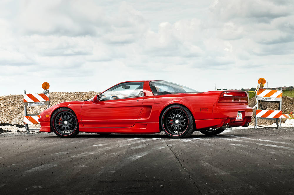 Cool Japanese cars Acura NSX.