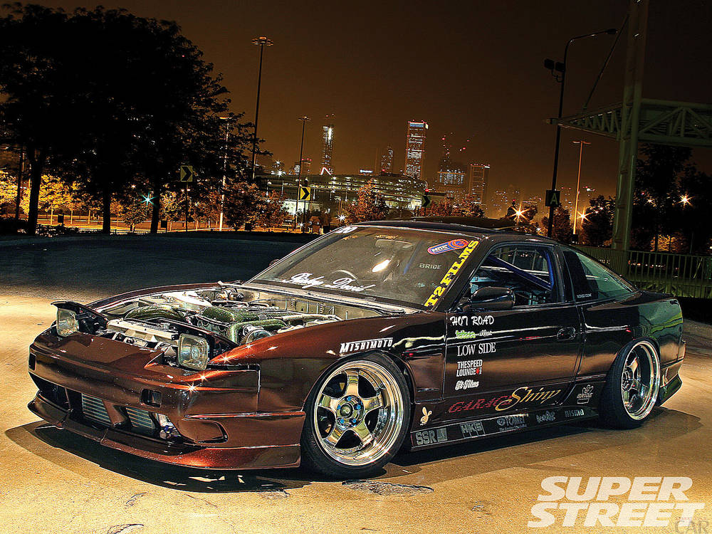 Fascinating Nissan 180sx.