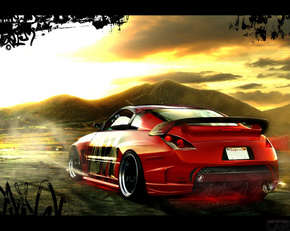 Photos of painted car Nissan 350Z