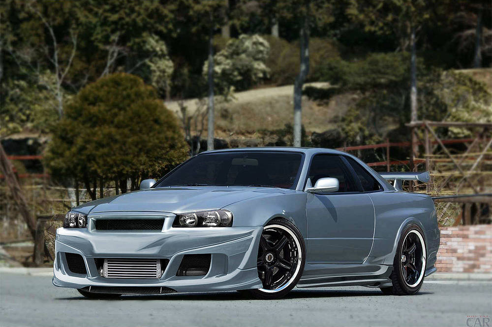 Exquisito Nissan Skyline R34 GTR Z Tune.