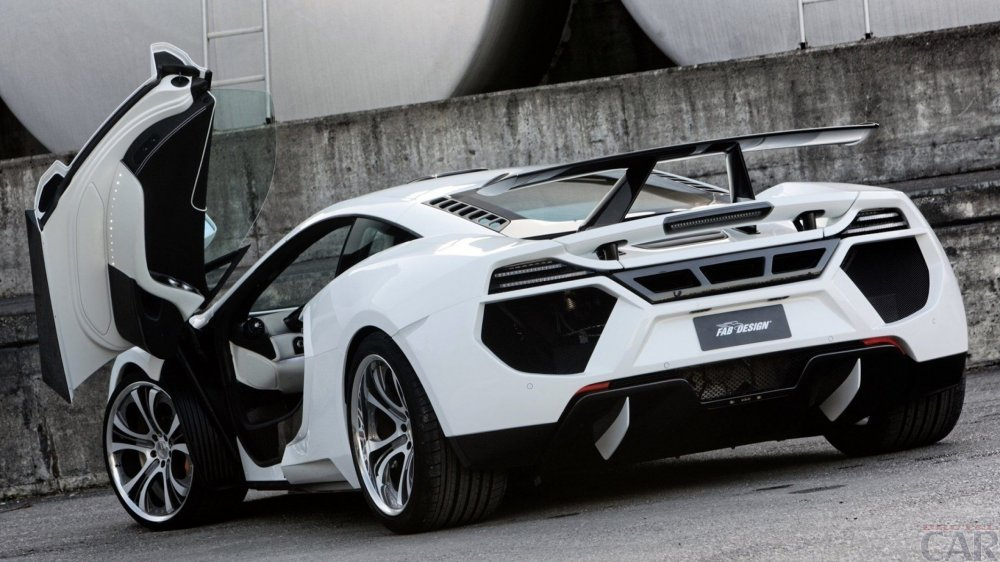 Photo significant new ultra-fast super car McLaren MP4-12C FAB
