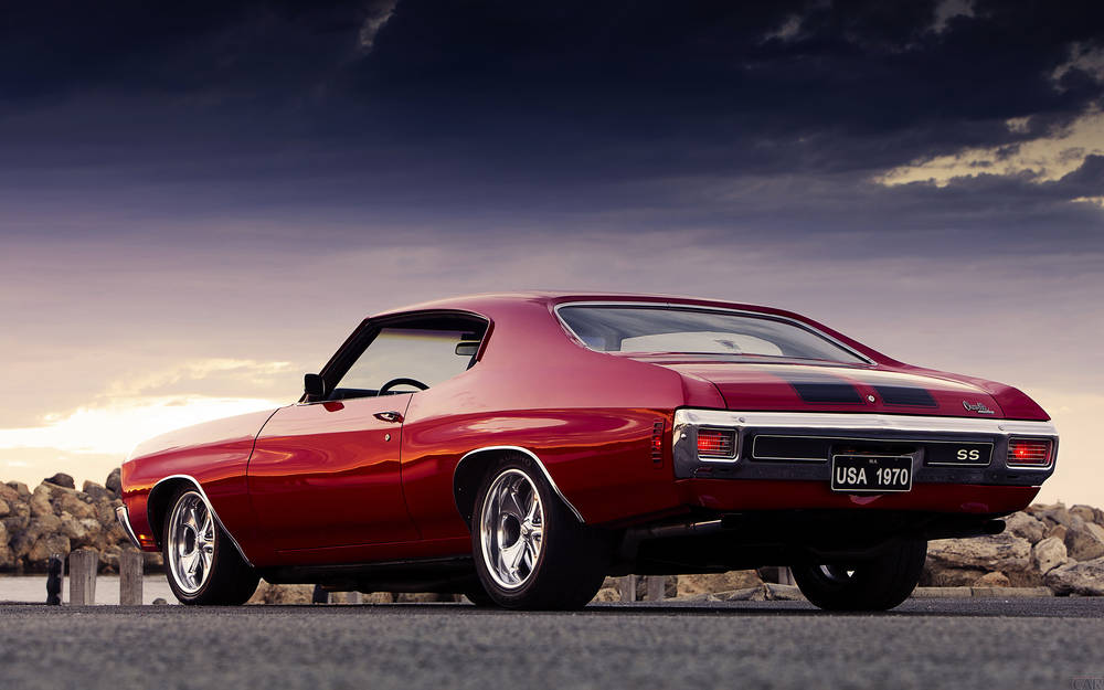 Powerful Chevrolet Chevelle SS.