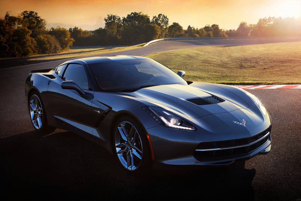 Adorable Chevrolet Corvette Stingray.