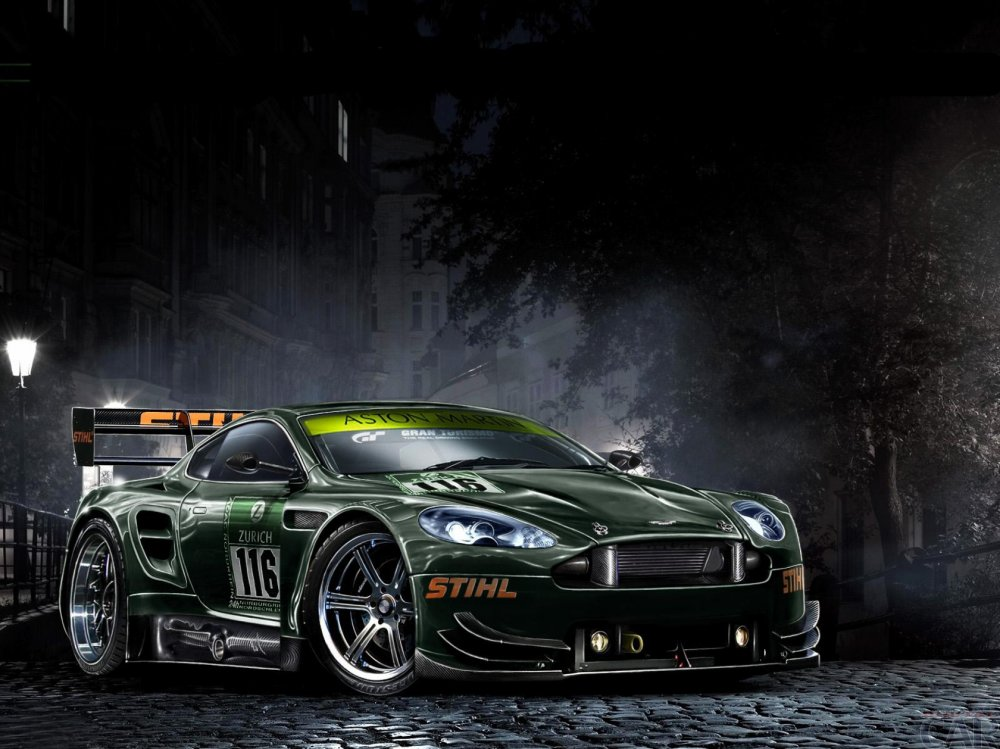 Wallpaper with an interesting car Aston Martin One-77