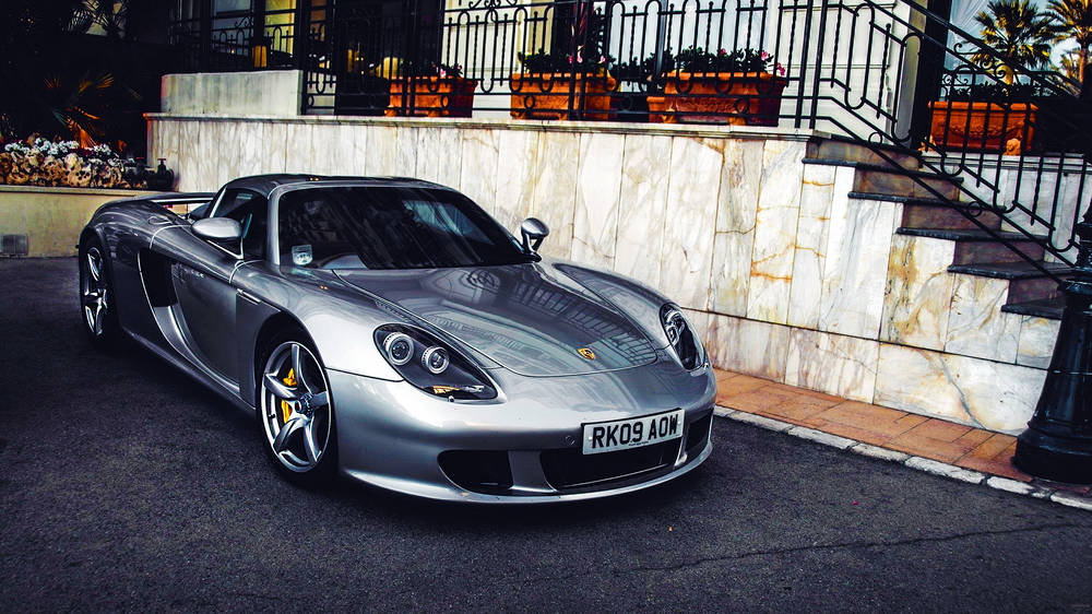 Photos Porsche Carrera GT.