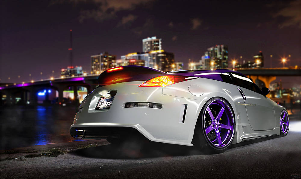 Nissan 350Z wallpaper.