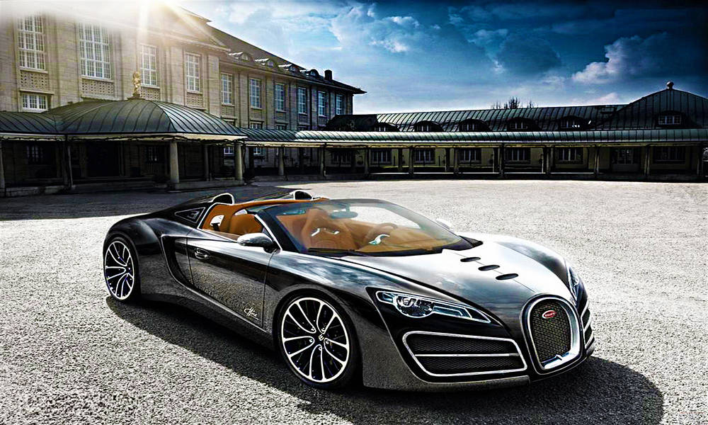 Bugatti Ettore Grand Sport concept wallpaper.