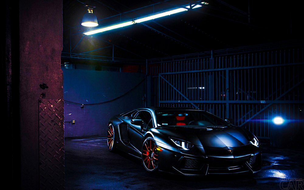 Wallpaper mit modischen Autos Sportler Lamborghini Reventon