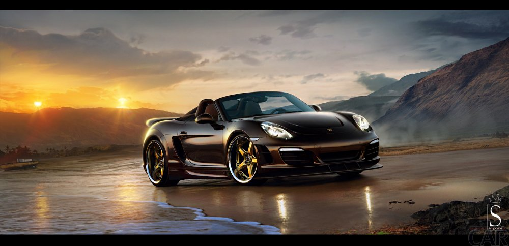 Wallpapers com extrema memorável carro Porsche Boxster S