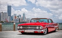 Photo raide restyling Chevrolet Chevy Impala 1960