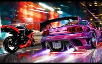 Download image c auto-moto duel Need for speed.