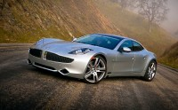 Download wallpaper with a futuristic mass-produced electric future Fisker Karma 2.0T CVT.
