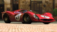 Photo cars incomparable grand and several avant-garde appearance, referred to as the Ferrari 330 P3.