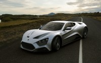 Sports car Zenvo St 1, made in exceptional style irascible beast.