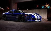 Muscle car with decent classroom sport package with charming male name Dodge Viper SRT10.