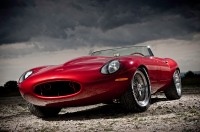 Retro car, photo Eagle Jaguar E-Type Speedster in his elegant and charming, classic style.