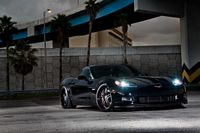 Black Beauty Chevrolet Corvette Z06.