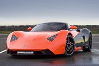 Sports car Marussia.