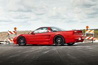 Coches japoneses frescos Acura NSX.
