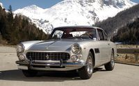 Refined sports car Ferrari 250 GTE.