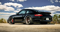 Spor araba Porsche 997 Turbo TT.
