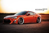 Awesome tuned Toyota GT86.