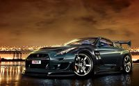 Sultry Nissan Skyline GT-R.
