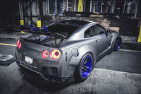 Tuned Nissan GT-R.