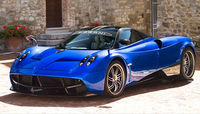 Attractive Pagani Huayra.