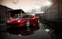 Linda Ferrari 458 Italia Baixe Papéis De Parede De Largura Esfriar Carro Para Ios Ferrari