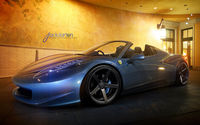 The elegant Ferrari 458 Spider.