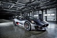 Noteworthy Jaguar C-X75.