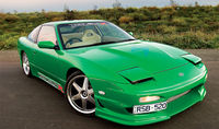 Lovely Nissan 200sx.