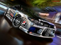 Wallpapers com vigoroso inteligente auto atleta Nissan Skyline GT-R (TS2)