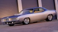 Wallpapers com espantosa carro Plymouth Cuda AAR