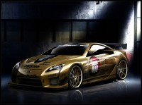 Wallpaper with a respectable exterior Lexus LFA. 4.8 Concept racer edition